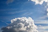 Cumulus clouds in summer