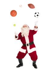 Santa Juggling Balls - Sports Series