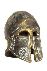 Ancient Spartan Helmet