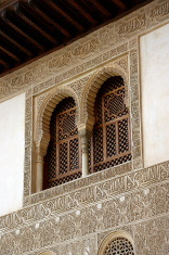 Detail of the Alhambra. Granada, Spain.