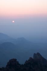 Misty South Rim Sunrise
