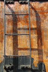 vertical steam train ladder