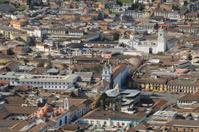 Cityscape Quito, Ecuador