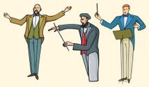 Conductor Illustrations (Vector)