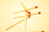 Plain match sticks