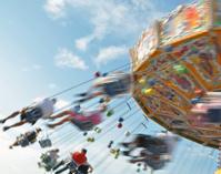Chair-O-Planes at the fair
