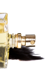 bottle of parfum