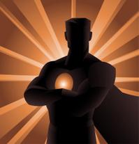 Superhero Shadow front