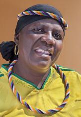 African Zulu Lady Portrait