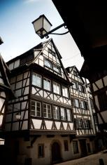 Half-timbered houses inStrasbourg