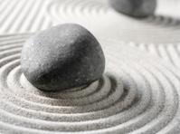 Pebbles in a Zen Garden