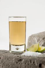 Elegant Tequila Shot