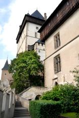 old Karlstejn castle