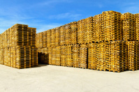 Pallets storehouse