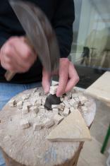 chisel stone