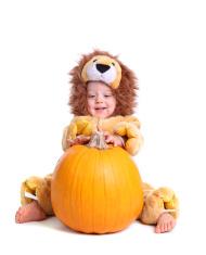 Child in Halloween Costume