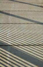 Sidewalk Shadow Patterns