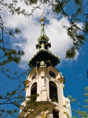 Clock tower in Vienna