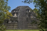 Mundo Perdido (Lost World), the oldest part of Tikal, Guatemala