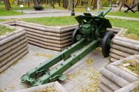 Soviet howitzer of the sample 1938.
