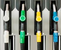 Petrol / gas station detail