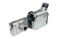 Digital photo camera and camcorder