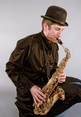 Alto Saxophone Player, Jazz Musician