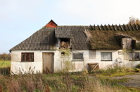 Abandoned farm house on Fyn (Funen), Denmark