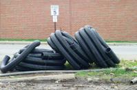 Black Plastic Pipe