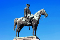 The Famous Alexander II of Russia Monument in Sofia, Bulgaria
