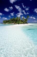 Maldives, southern atolls, Island.