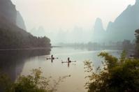 Fisherman Boats on Li River