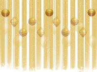 Gold Christmas bauble background
