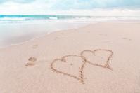 Beach Love Message
