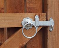 galvanized gate latch