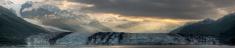 Harvard Glacier Sunrise Panorama