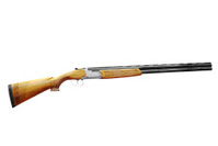 hunting shotgun isolated