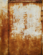 Rusted White Panel