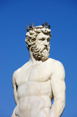 Fountain Of Neptune In Florence