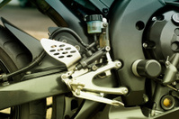 Motorcycle - brake pedal