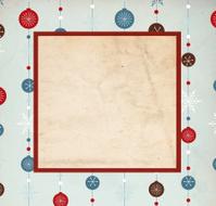 Retro Christmas Background - XXXL