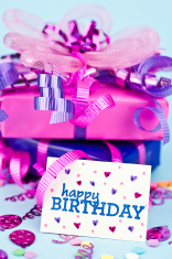 Birthday Gifts with Card