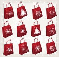 Advent Shopping Bag