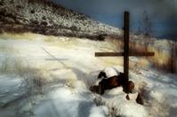 Primitive Grave in the Desert