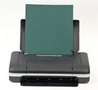 Portable Printer with Green Copy