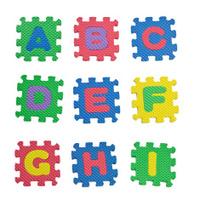 Alphabets A to I