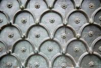 Full Frame Pattern Background Copper Door