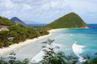 Long Bay and Belmont Point in Tortola, British Virgin Islands