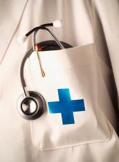 Coat pocket medical