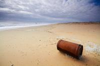 Container in Desert Beach
